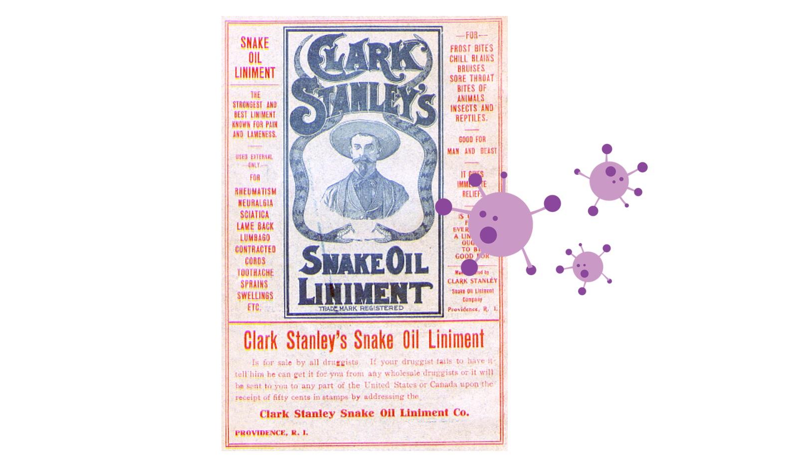 """COVID-19: el """"snake-oil"""" del momento"""